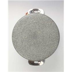Garnek granitowy indukcyjny z pokrywką Ballarini Portofino