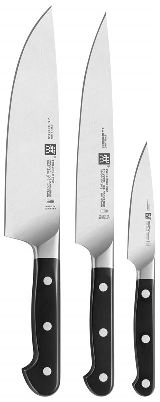 Zestaw 3 noży Zwilling Pro