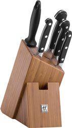 Zestaw noży w bambusowym bloku Zwilling Pro