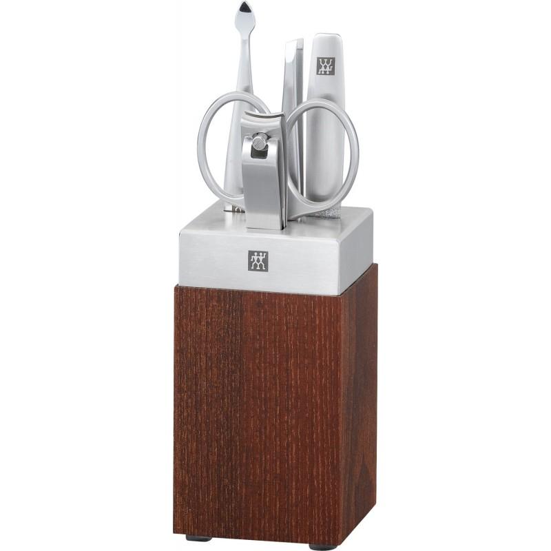 Zestaw do manicure Twinox® Spa, 5 el., drewno i stal