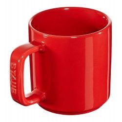 Kubek ceramiczny Staub, 2 szt. - czerwony