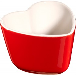 Mini Kokilka Serce Staub, 2 szt. - czerwony