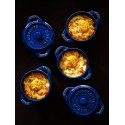 Staub Mini Cocotte Okrągły - niebieski