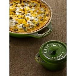 Staub Mini Cocotte Okrągły - zielony