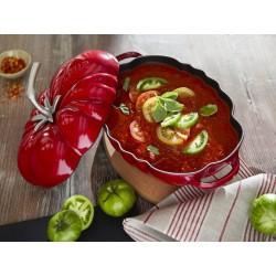 Garnek żeliwny owalny pomidor Staub