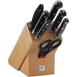 Zestaw noży w drewnianym bloku Zwilling Professional S