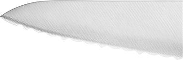 Kompaktowy nóż szefa kuchni z ząbkami Zwilling® Pro - ostrze