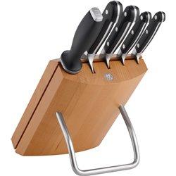 Zestaw 4 noży w bloku Zwilling Pro