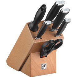 Zestaw 4 noży w bloku Zwilling Twin Four Star II