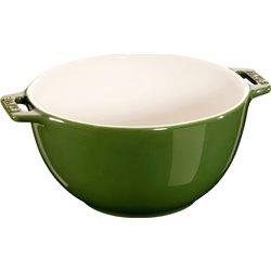 Mała miska z dwoma uchwytami Staub - zielona