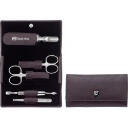 Zestaw do manicure Classic Inox®, liliowy, 5 elementów