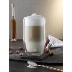 Zestaw dwóch szklanek do latte macchiato Zwilling Sorrento
