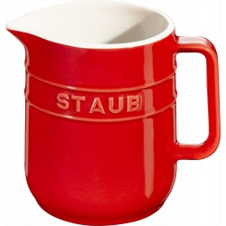 Dzbanuszek do mleka Staub - czerwony