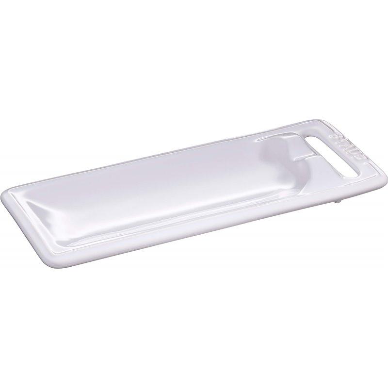 Podstawka pod łyżkę Staub - biała