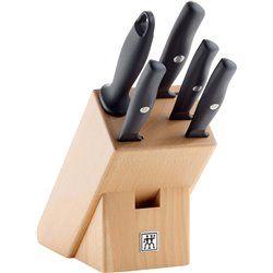 Zestaw 4 noży w bloku Zwilling Life
