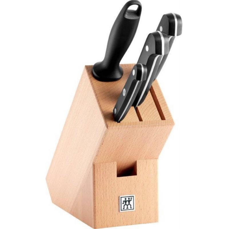Zestaw 4 noży w bloku Zwilling® Gourmet