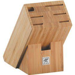 Bambusowy blok na noże Zwilling