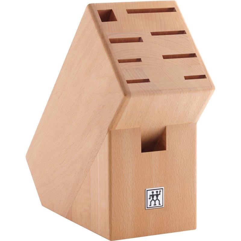 Drewniany blok na noże Zwilling