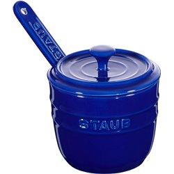 Pojemnik na sól z łyżeczką Staub - niebieski