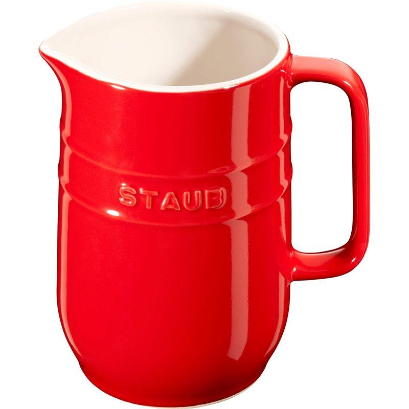 Dzbanek Staub - czerwony