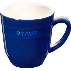 Kubek ceramiczny Staub - niebieski