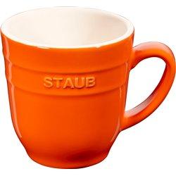 Kubek ceramiczny Staub - pomarańczowy