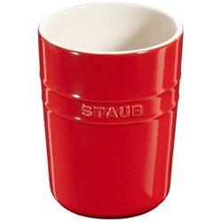 Pojemnik do przechowywania Staub - czerwony