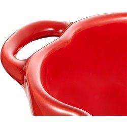 Mini Cocotte ceramiczny owalny pomidor Staub