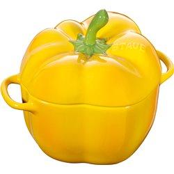 Mini Cocotte okrągły papryka Staub - żółty