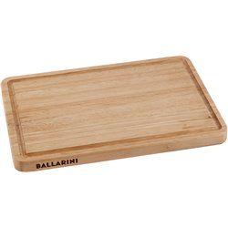 Dwustronna drewniana deska do krojenia Ballarini