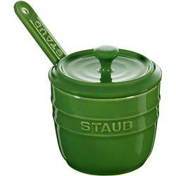 Pojemnik na sól z łyżeczką Staub - zielony