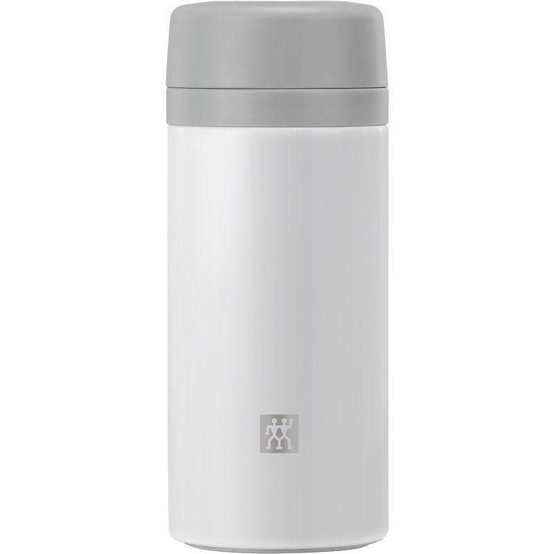 Pojemnik termiczny z zaparzaczem do herbaty Zwilling Thermo - biały