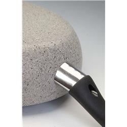 Patelnia granitowa głęboka non-stick Ballarini Cortina Granitium