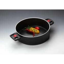 Rondel z dwoma uchwytami Click&Cook (bez pokrywki)