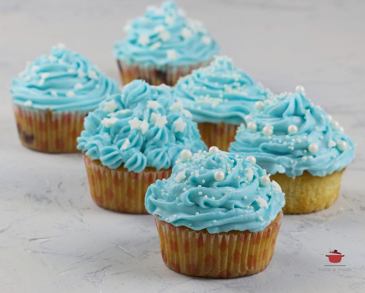 Smurfne muffiny