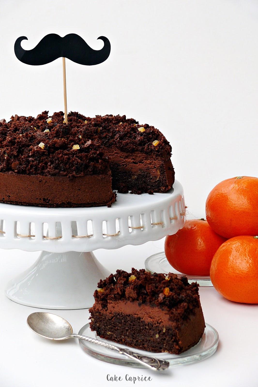 Torcik czekoladowo-pomarańczowy