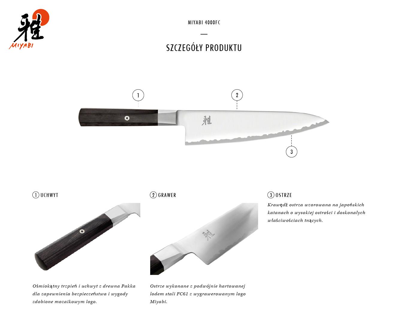 Dlaczego warto kupić nóż Gyutoh Miyabi 4000FC?