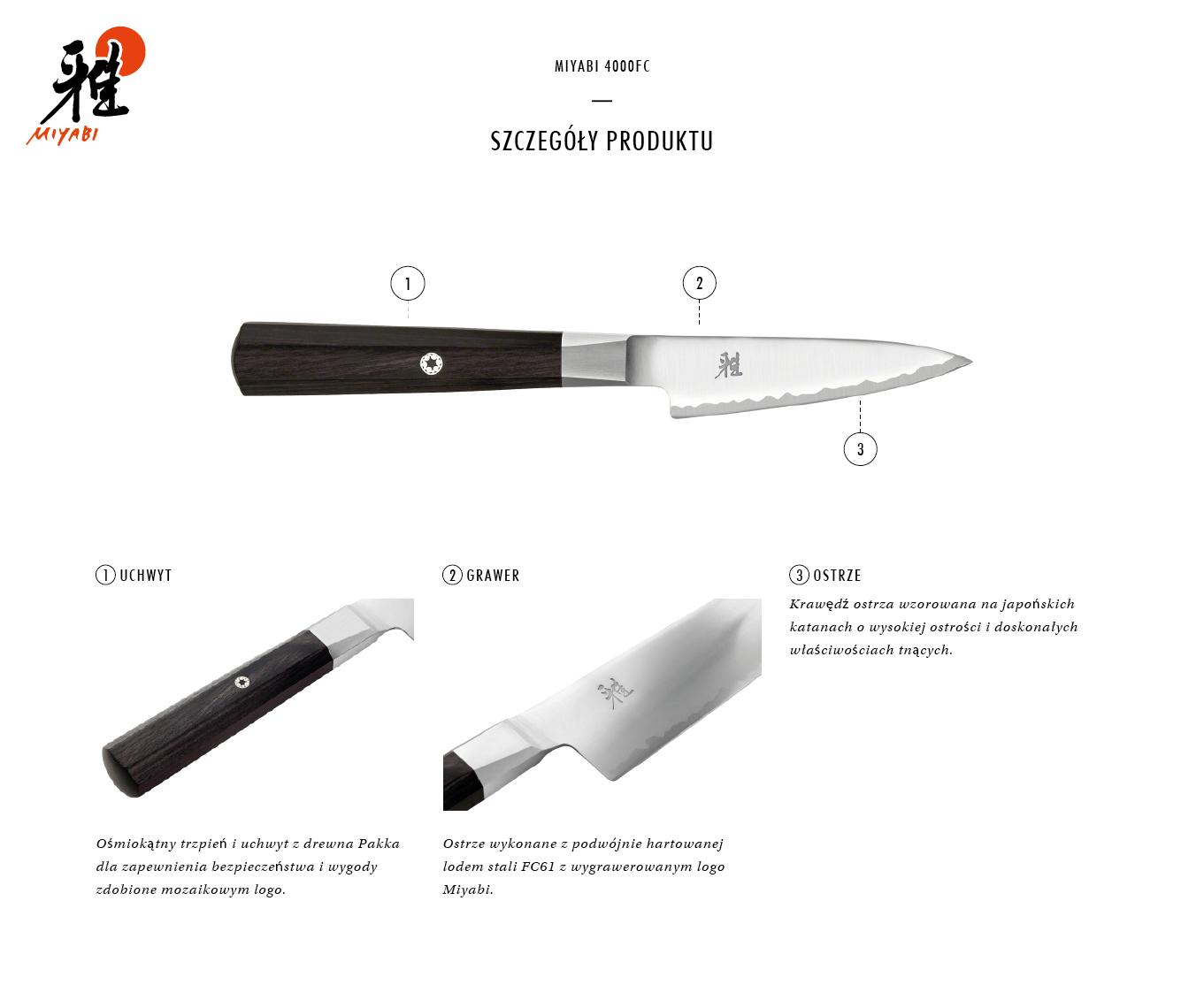 Dlaczego warto kupić nóż Kudamono Miyabi 4000FC?