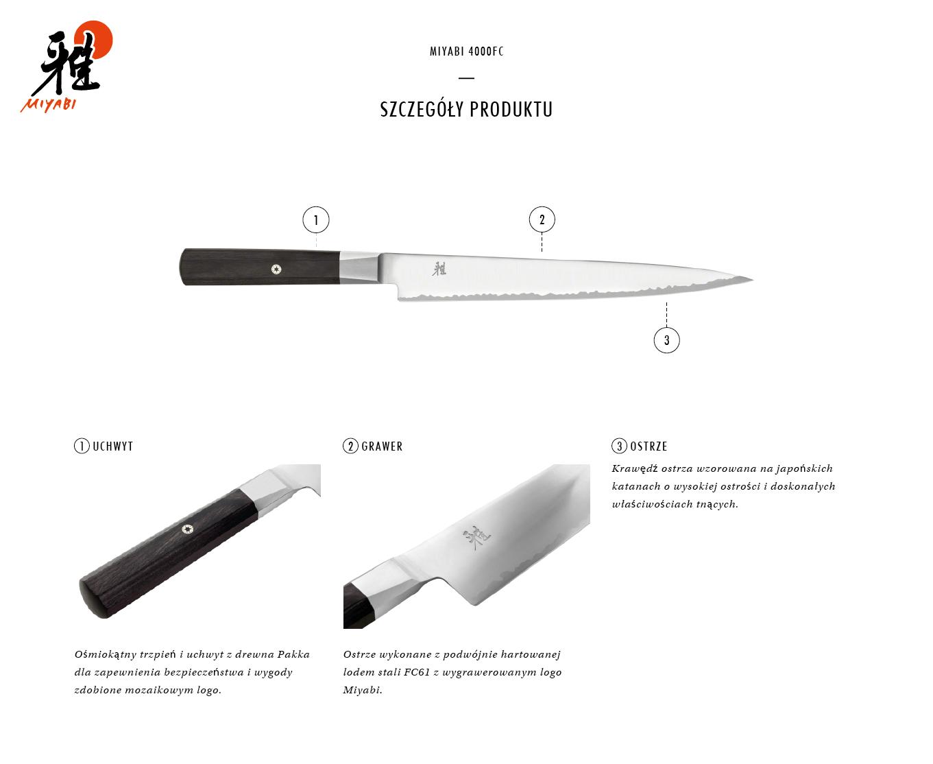 Dlaczego warto kupić nóż Sujihiki Miyabi 4000FC?