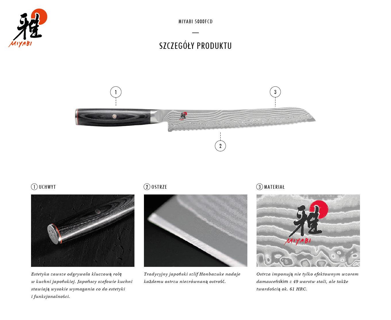 Dlaczego warto kupić nóż do pieczywa Miyabi 5000FCD?