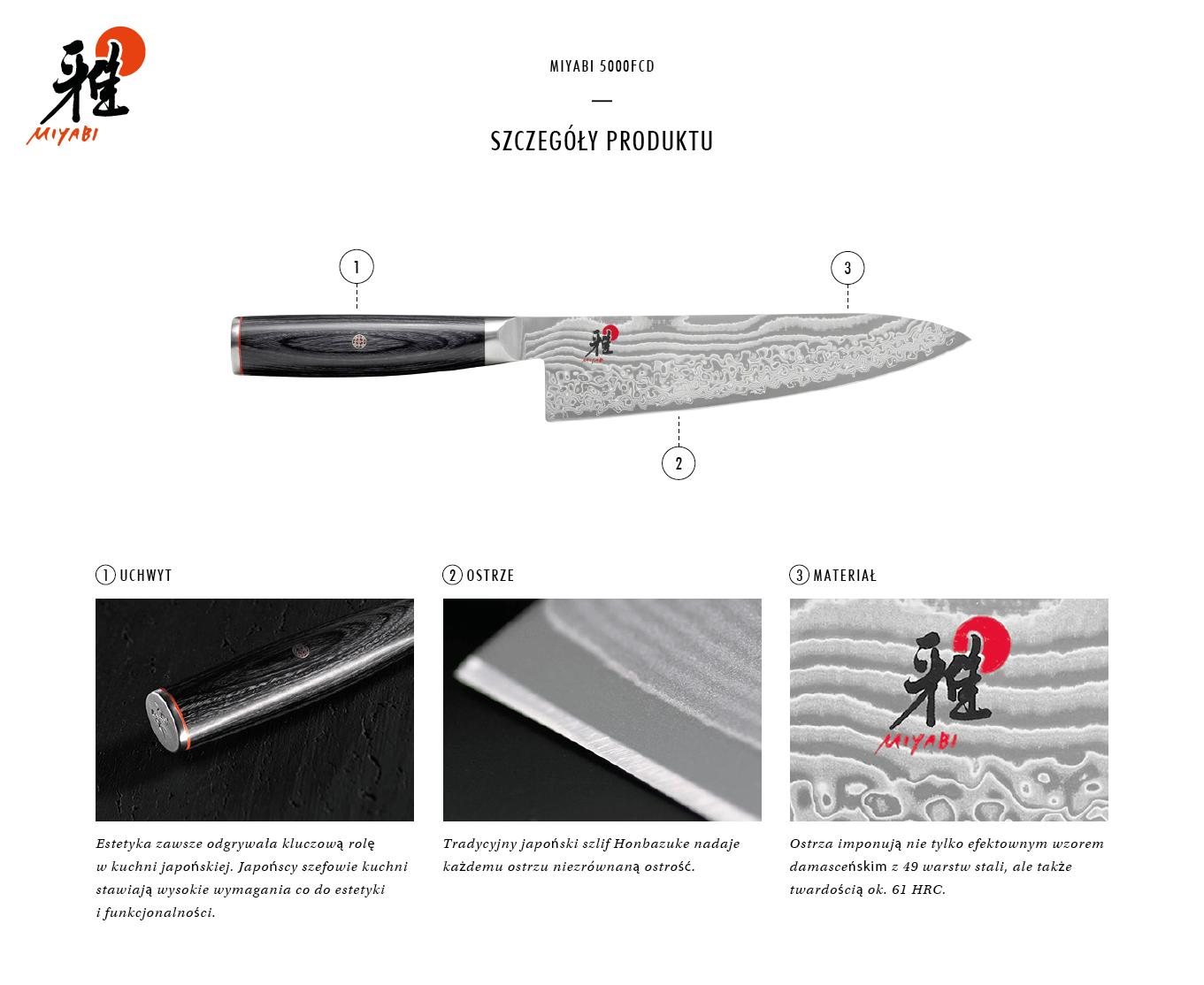 Dlaczego warto kupić nóż Gyutoh Miyabi 5000FCD?