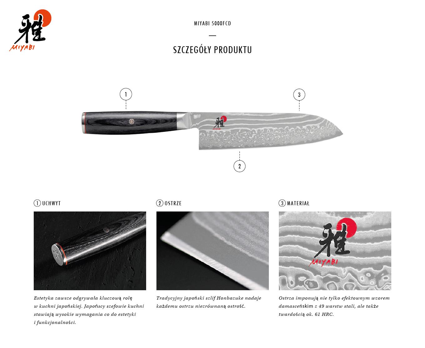 Dlaczego warto kupić nóż Santoku Miyabi 5000FCD?