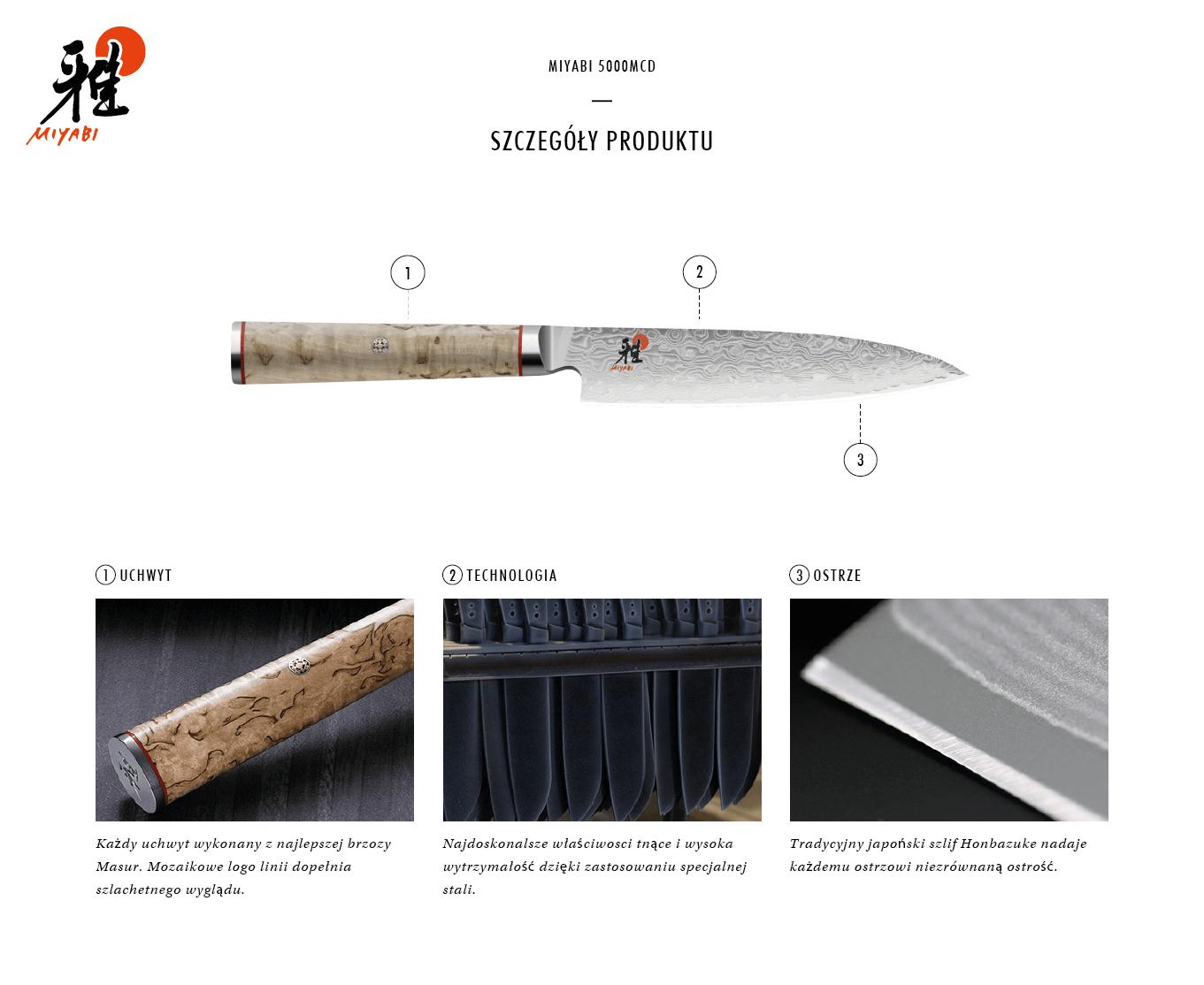 Dlaczego warto kupić nóż Chutoh Miyabi 5000MCD?