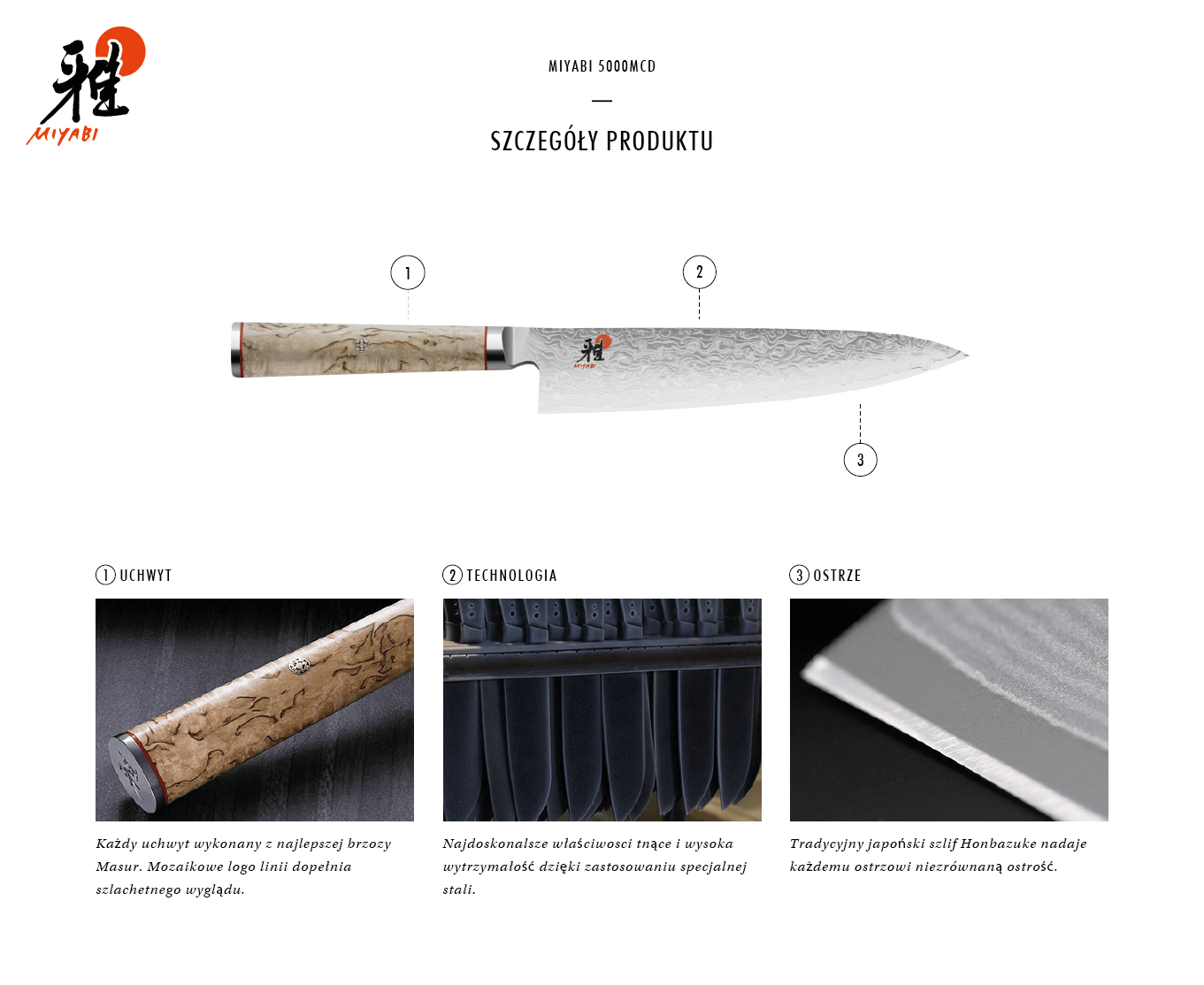 Dlaczego warto kupić nóż Gyutoh Miyabi 5000MCD?