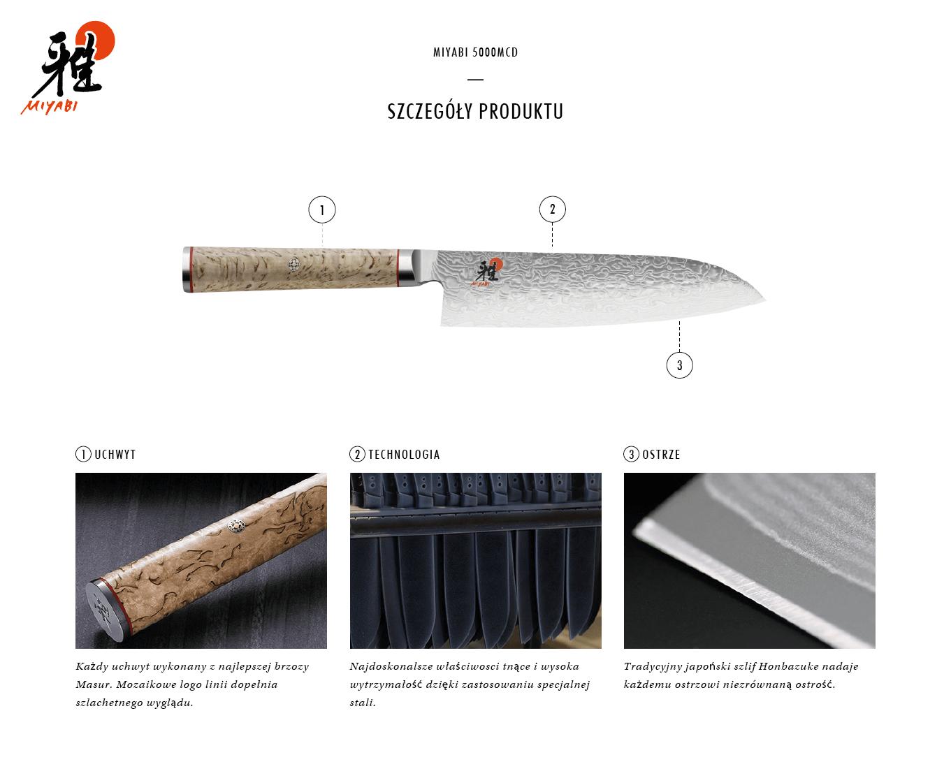Dlaczego warto kupić nóż Santoku Miyabi 5000MCD?