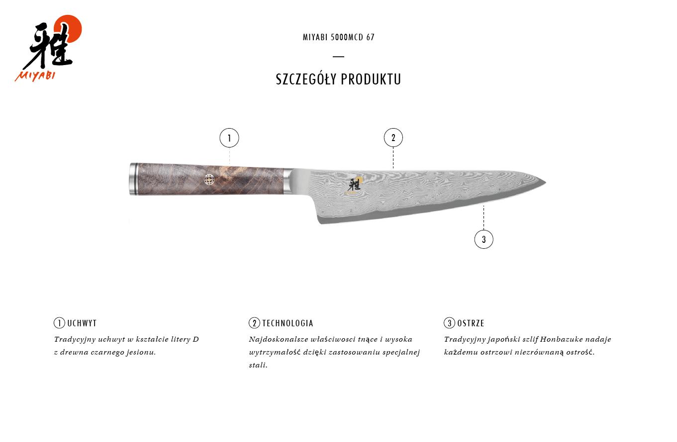 Dlaczego warto kupić nóż Shotoh Miyabi 5000MCD 67?