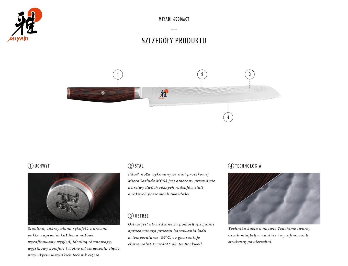 Dlaczego warto kupić nóż do pieczywa Miyabi 6000MCT?
