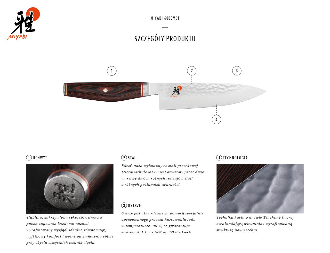 Dlaczego warto kupić nóż Gyutoh Miyabi 6000MCT?