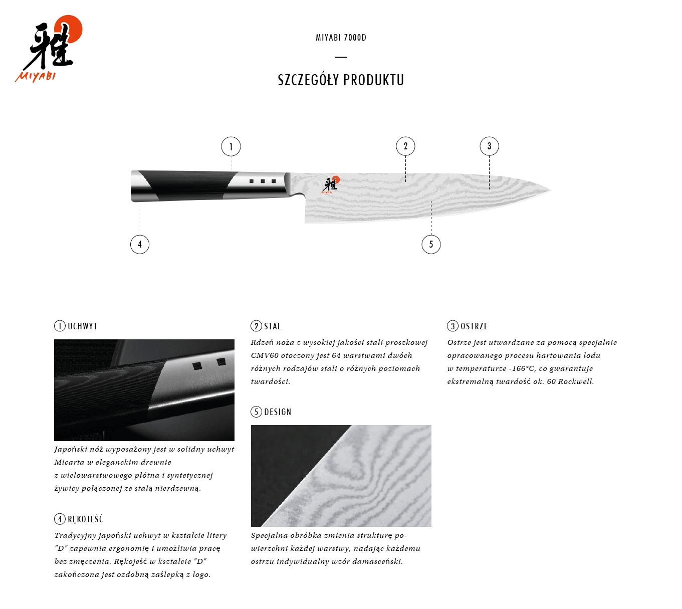 Dlaczego warto kupić nóż Gyutoh Miyabi 7000D?