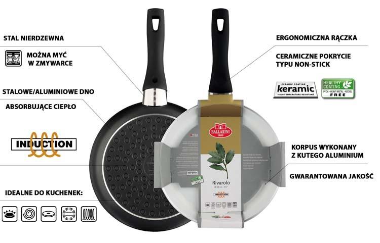 Dlaczego warto kupić wok indukcyjny Ballarini Rivarolo Più?